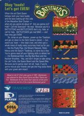 Battletoads - Back | Battletoads Sega Game Gear