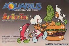 BurgerTime Mattel Aquarius Prices