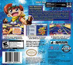 Box - Back   Battle B-Daman: Fire Spirits GameBoy Advance