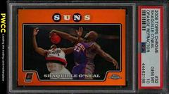 Shaquille O'Neal [Orange Refractor] Basketball Cards 2008 Topps Chrome Prices