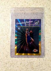Brandon Ingram [Green, Yellow Laser] Basketball Cards 2016 Panini Donruss Prices