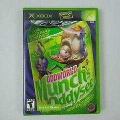 Not For Resale Variant   Oddworld Munch's Oddysee Xbox