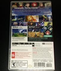 Case Backside | Xenoblade Chronicles 2 Nintendo Switch