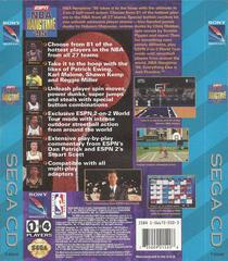 ESPN NBA Hang Time 95 - Back   ESPN NBA Hang Time 95 Sega CD