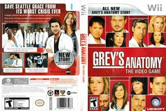 Artwork - Back, Front | Grey's Anatomy The Video Game Wii