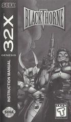 Blackthorne - Manual | Blackthorne Sega 32X