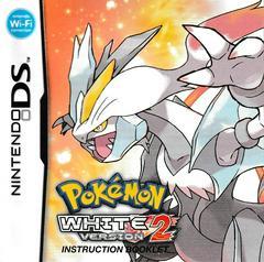 Manual - Front | Pokemon White Version 2 Nintendo DS
