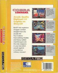 Cobra Command - Back | Cobra Command Sega CD