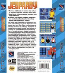 Jeopardy! - Back   Jeopardy Sega CD