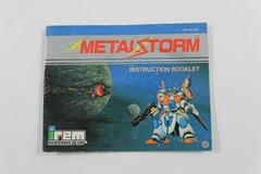 Metal Storm - Manual   Metal Storm NES