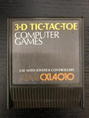 3-D Tic-Tac-Toe Atari 400 Prices