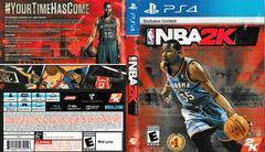 Artwork - Back, Front   NBA 2K15 Playstation 4