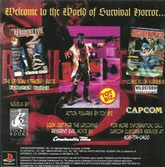 Back Of Manual   Resident Evil 2 Playstation