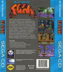 Flink - Back | Flink Sega CD
