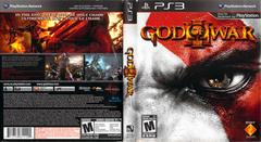 Slip Cover Scan By Canadian Brick Cafe | God of War III Playstation 3