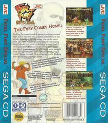 Fatal Fury Special - Back | Fatal Fury Special Sega CD