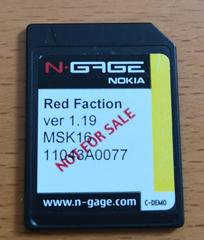 Red Faction [Not for Resale] N-Gage Prices