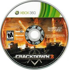 Game Disc | Crackdown 2 Xbox 360