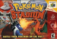 Front Cover | Pokemon Stadium Nintendo 64