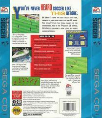 FIFA International Soccer - Back | FIFA International Soccer Sega CD