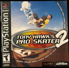 Manual Front | Tony Hawk 2 Playstation
