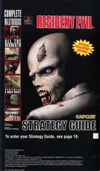 Back Of Manual   Resident Evil [Long Box] Playstation