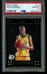 Kevin Durant Basketball Cards 2007 Topps Prices