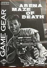 Arena Maze Of Death - Manual | Arena Maze of Death Sega Game Gear