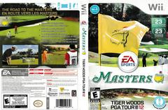 Artwork - Back, Front | Tiger Woods PGA Tour 12: The Masters Wii