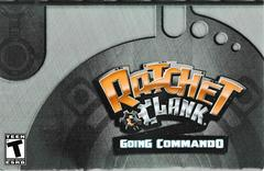 Manual Slip Cover | Ratchet and Clank Going Commando Playstation 2