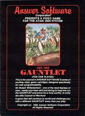 Gauntlet Atari 2600 Prices