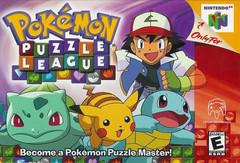 Pokemon Puzzle League Cover Art