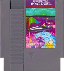 Cartridge   Eliminator Boat Duel NES