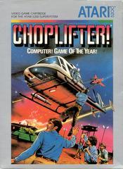 Choplifter! - Front | Choplifter! Atari 5200