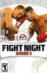 Manual - Front | Fight Night Round 3 Playstation 2