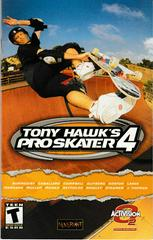 Manual - Front | Tony Hawk 4 Playstation 2