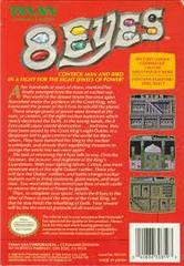8 Eyes - Back | 8 Eyes NES