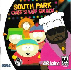 Manual - Front | South Park Chef's Luv Shack Sega Dreamcast