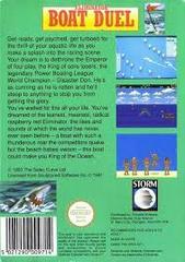 Eliminator Boat Duel - Back   Eliminator Boat Duel NES