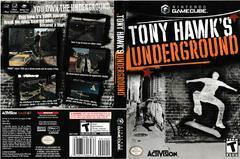 Artwork - Back, Front | Tony Hawk Underground Gamecube