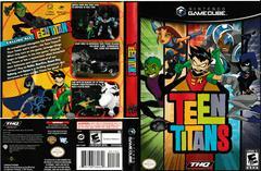 Artwork - Back, Front | Teen Titans Gamecube