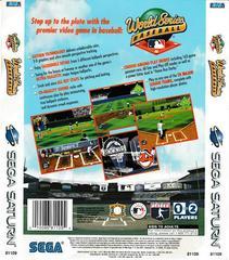 Back Of Box | World Series Baseball Sega Saturn