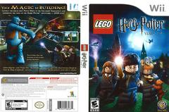 Artwork - Back, Front | LEGO Harry Potter: Years 1-4 Wii