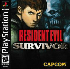 Manual - Front | Resident Evil Survivor Playstation
