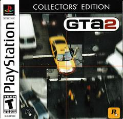 GTA 2 Manual - Front | Grand Theft Auto Collector's Edition Playstation