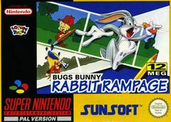 Bugs Bunny Rabbit Rampage PAL Super Nintendo Prices