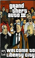 Manual - Front | Grand Theft Auto III Playstation 2