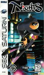 Manual - Front | Nights into Dreams Sega Saturn