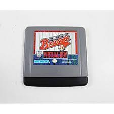Virtual League Baseball - Cartridge | Virtual League Baseball Virtual Boy