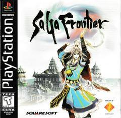 Manual - Front   Saga Frontier Playstation
